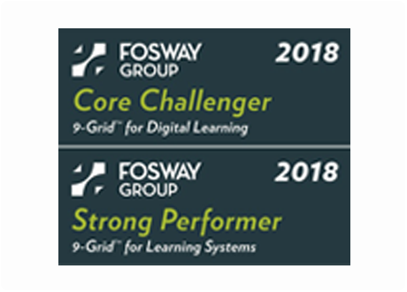 Fosway Group 2019 Award for Strong Performer and Solid Performer