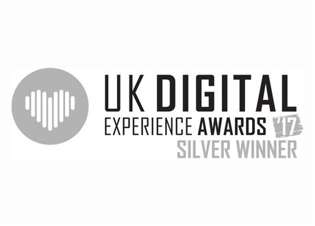 UK Digital Experience Silver Award 2017