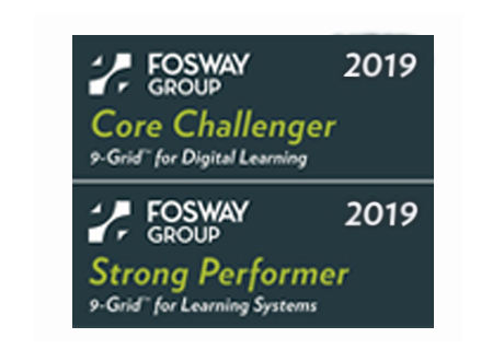 Core challenger and strong performer in Fosway 9 Grid